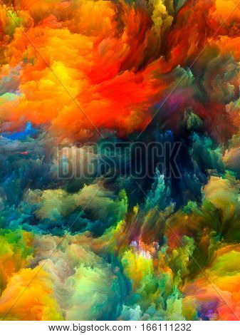 Colorful Fractal Brush