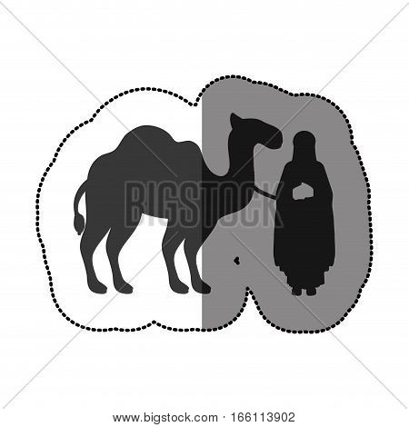 three wise men icon vector illustration graphic design