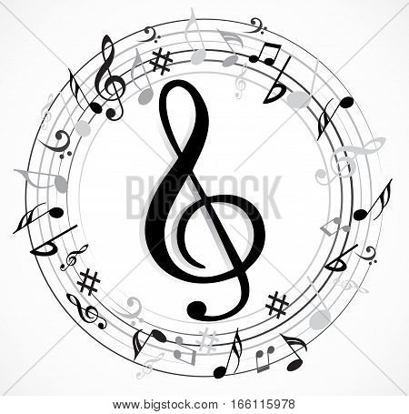 Music Note Music Vector & Photo (Free Trial) | Bigstock