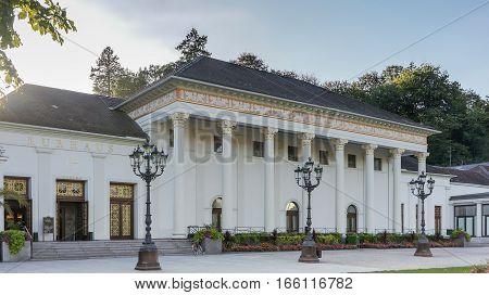 Famous Casino in Baden-Baden in Germany, Europe.