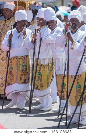 2016 Timket Celebrations In Ethiopia - Medehane Alem Tabot