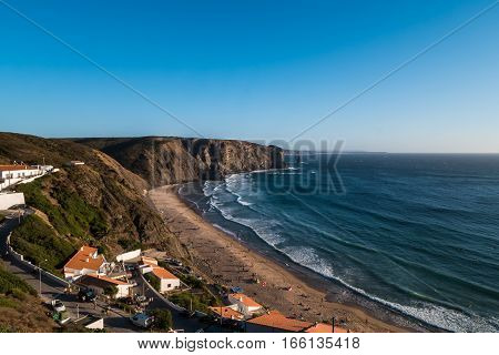 Portugal - Cliffs, Beach And Ocean