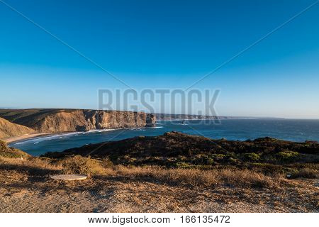 Portugal - Panoramic View Of Cliffs And Ocean