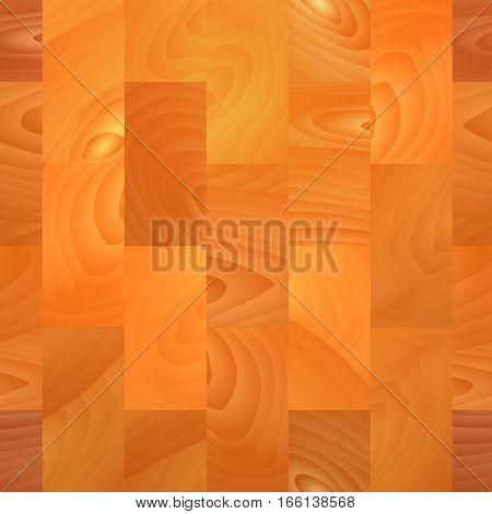 Realistic wooden parquet background. Planks. Template for design