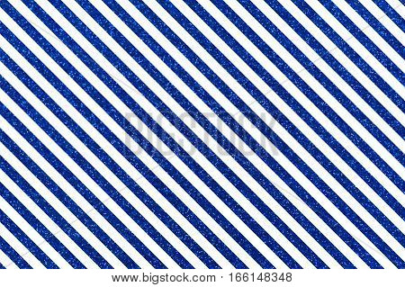 Slanted glittery lines. Rectangular orientation. Diagonal blue stripes of glitter