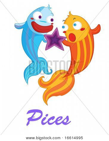 Pices star sign from series 1
