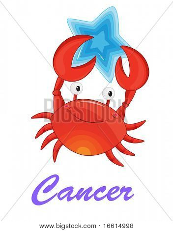cancer star sign from series 1