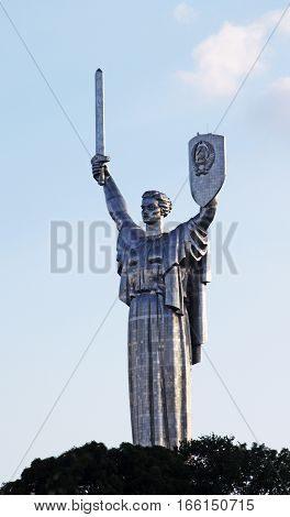 Monumental statue of the