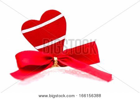 Valentines day and Sweetest day isolated on white background
