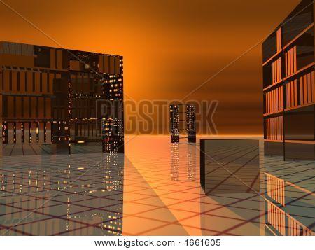Modern Offices Orange