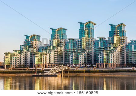 St George Wharf In London