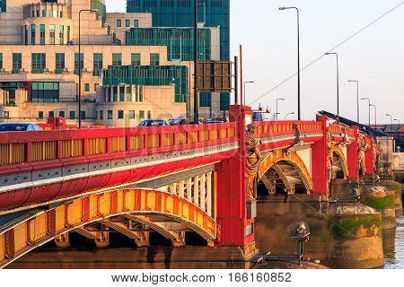 Vauxhall Bridge And Secret Intelligence Service Building