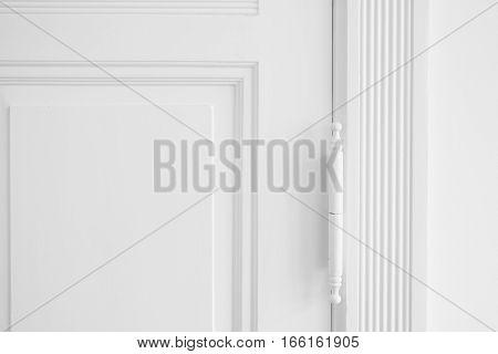 Real Estate Interior Background , Restored Door