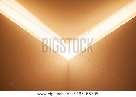 Corner With Niche And Inner Illumination