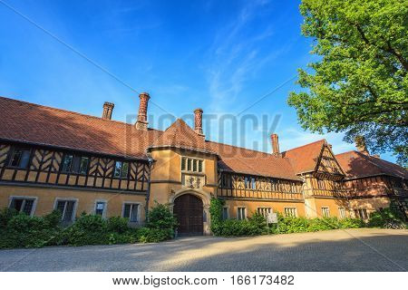 Cecilienhof palace at Potsdam city of Germany
