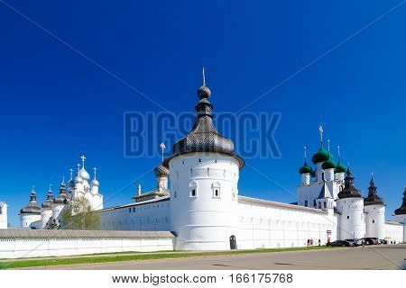 Rostov Kremlin, Yaroslavl Oblast, Russia.