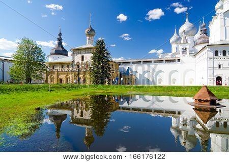 Hodegetria Church - One Of The Churches In The Rostov Kremlin, Yaroslavl Oblast, Russia