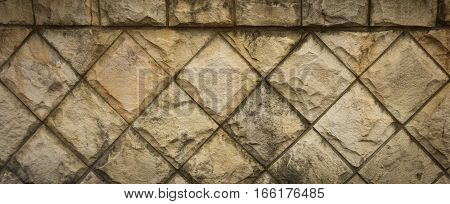 Natural stones textured on the wall photo taken in jakarta indonesia java