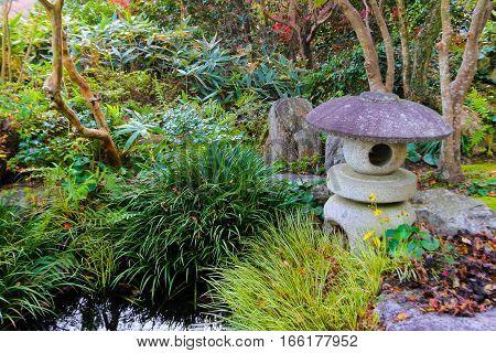 Garden japanese stlye use for background .