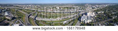Aerial photo Golden Glades Interchange Miami FL