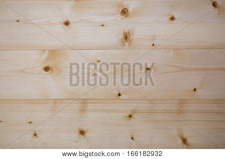Background of wooden pine planks showing woodgrain texture. Floor from the rabbeted pine board. Wood background texture