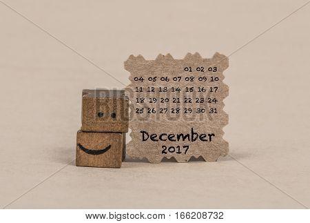 Calendar For December 2017