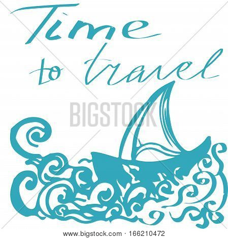 Travel Hand Drawn Vector Photo Free Trial Bigstock