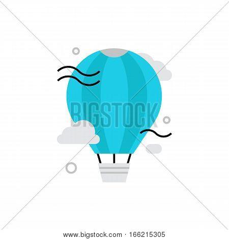 Exploration Monoflat Icon.