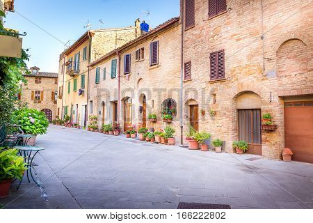 Pienza In Tuscany