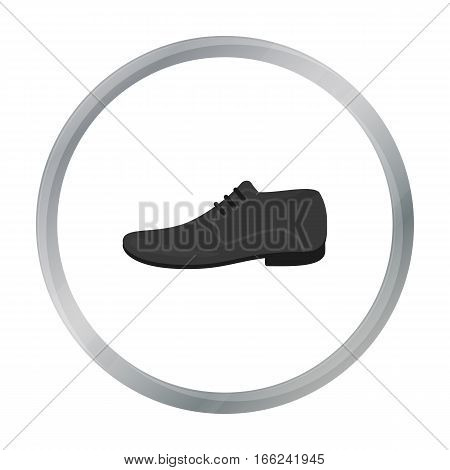 Men Shoes icon of vector illustration for web and mobile design - stock vector