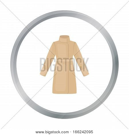Coat icon of vector illustration for web and mobile design - stock vector