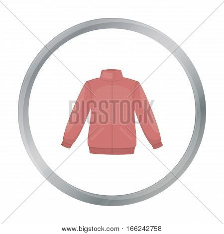 Jacket icon of vector illustration for web and mobile design - stock vector