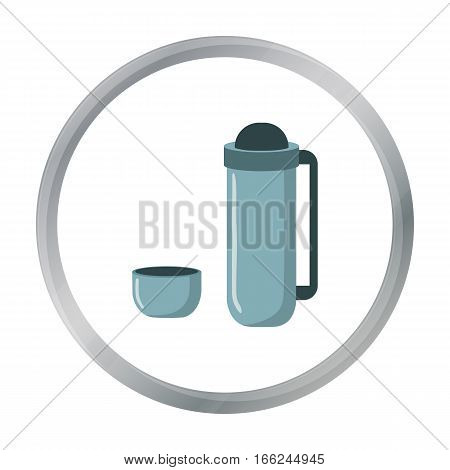 Thermos icon of vector illustration for web and mobile design - stock vector