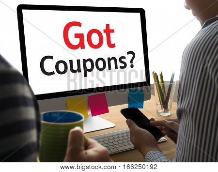 Got Coupons? advertise, advertisement, advertising, banner, commercial