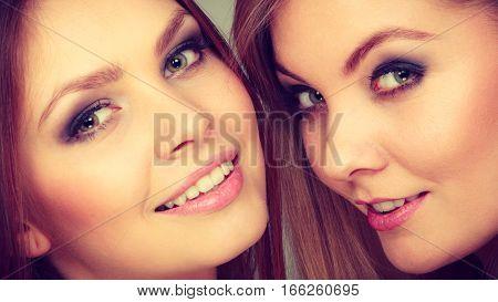 Charming Positive Female Siblings.