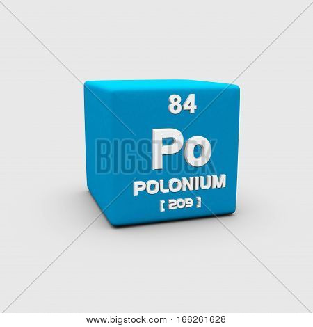 Polonium is a chemical element with symbol Po and atomic number 84, discovered in 1898 .