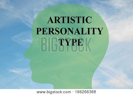 Artistic Personality Type Concept