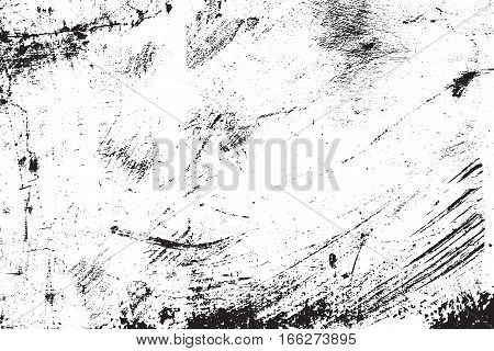 Vector grunge texture. Abstract background, old painted wall. Overlay illustration over any design to create grungy vintage effect and extra depth. For posters, banners, retro and urban designs.