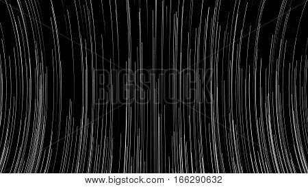 Abstract background with bend lines. 3d rendered.