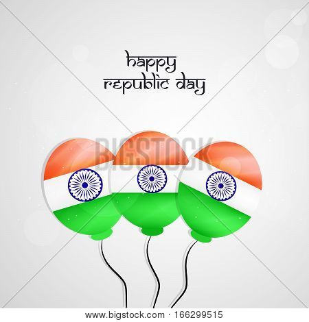 Illustration of elements for Indian Republic Day