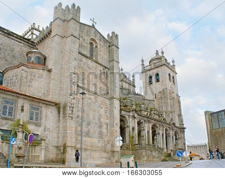 The Cathedral Of Porto