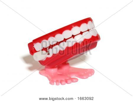 Teeth Wind Up Toy