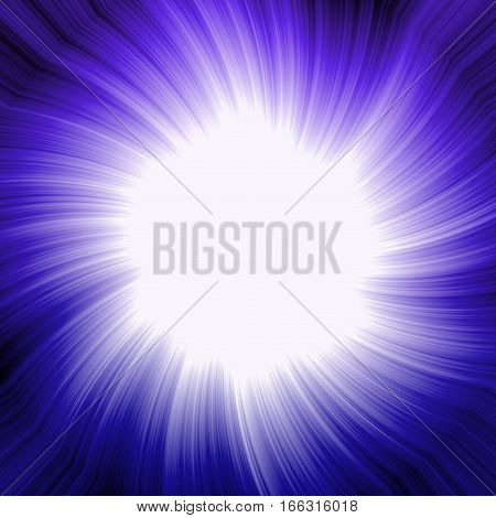 Abstract blue or levander violet fram space background for text