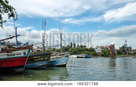 Fishing Village In Colombo, Sri Lanka