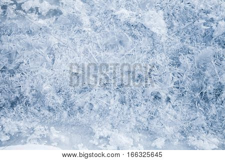 Fresh Thin Ice, Natural Background Photo