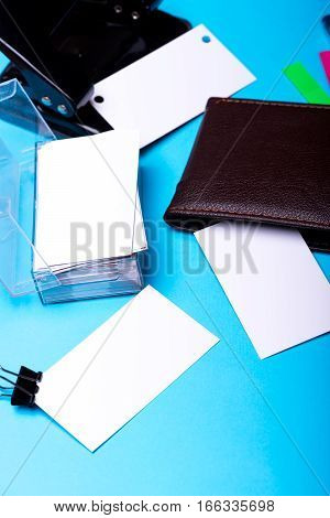 Stationery For Office: Hole Puncher, Blanks, Binder Clip, Wallet, Stickers