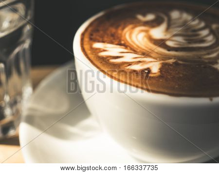 White Cup Of Mocha.