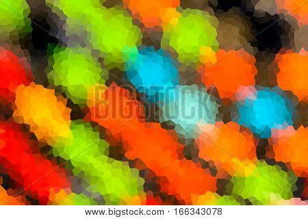 Abstract Background Of Crystallized