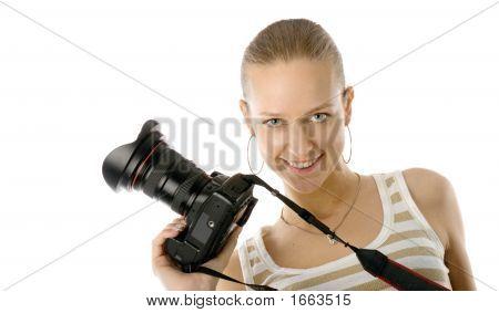 Mädchen-Fotograf
