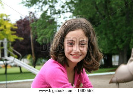 Young Girl At The Park